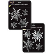 Luxury Self Adhesive Snowflake Window Decorations