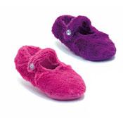 Non Skid Furry Ballerina Style Slippers