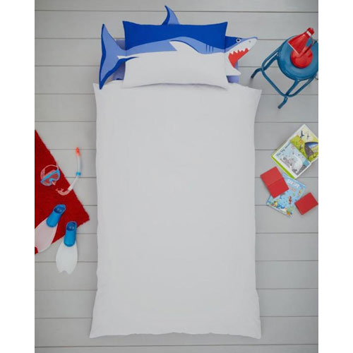 Creative Novelty Shaped Duvet Reversible - Shark