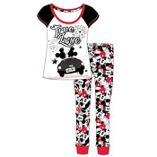 Ladies Minnie Mouse Pyjama Set