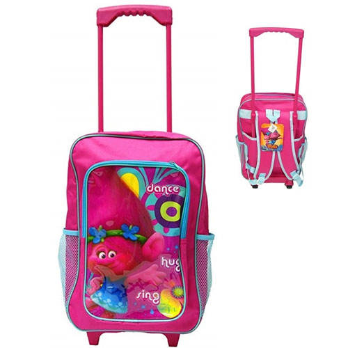 Official Trolls Deluxe Trolley Backpack