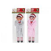 Elf Plain Coloured Dressing Grown Assorted
