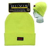 Heat Machine Hi Vis Beanie Cuff Hat