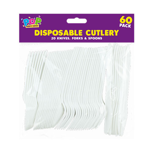 Party Disposable Plastic Cutlery