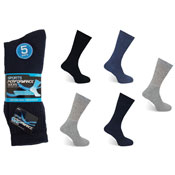 Mens Sports Performance Socks Assorted