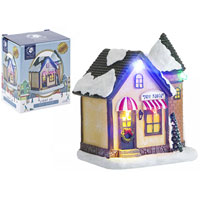 Miniature Resin Light Up Toy Shop