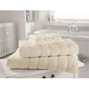 Egyptian Cotton Hand Towel Cream