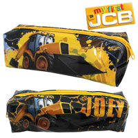 Official Joey JCB Pencil Case Black