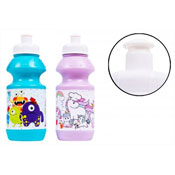 2 Assorted Kids Sports Bottle