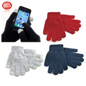 Ladies Touch Screen Magic Gloves