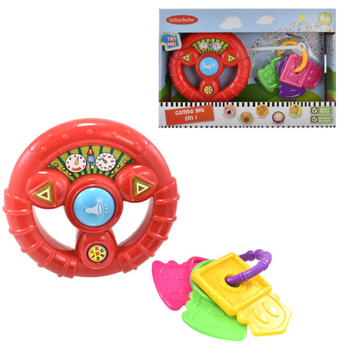 Baby Combo Play Set Steering Wheel