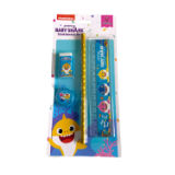Official Baby Shark 4 Piece Stationery Set