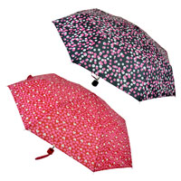 Heart And Spot Supermini Umbrella