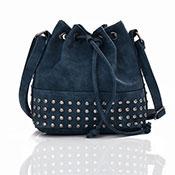 Brienne Stud Crossbody Bag Navy