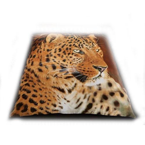 Leopard Mink Faux Throw