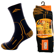 Mens Chunky Construction Socks