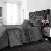Porto Charcoal Luxury Duvet Set