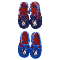Official Mickey Mouse Boys Jelly Sandals