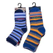 Boys Computer Socks Stripe