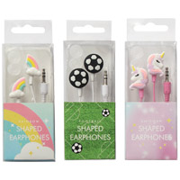 Novelty Shaped Earphones