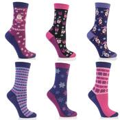 Festive Feet Ladies Christmas Socks