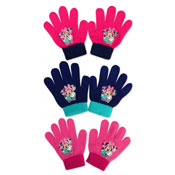 Official Childrens Minnie Mouse Knitted Gloves
