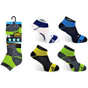 Mens ProHike Trainer Socks Coloured Top