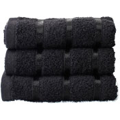 Luxury Egyptian Cotton Hand Towel Black