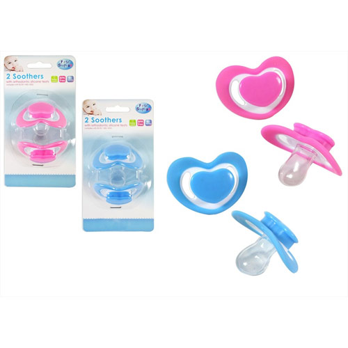 2 Pack Baby Soothers