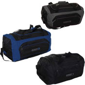 Holdall Bag with Side Zip Pockets