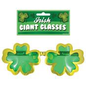 St Patrick's Day Giant Irish Glasses