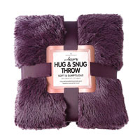 Hug And Snug Throw Purple