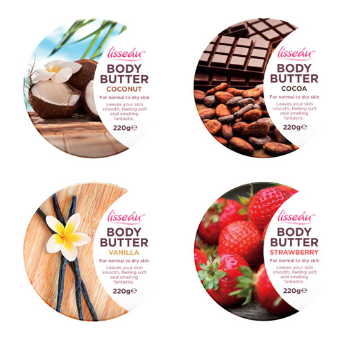 Body Butter Assorted Flavours 220g