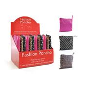 Adults Fashion Print Poncho