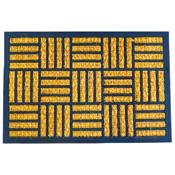 Coir Door Mat Rectangular Squares