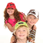 Childrens Novelty Animal Baseball Hat