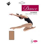 Shimmer Full Foot Dance Tights Girls