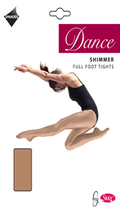 Dance Shimmer Foot Tights