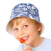 Boys Fancy Reversible Bush Hat