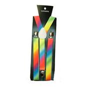Plain Rainbow Colour Braces