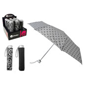 Drizzles Umbrella Grey/Black Display box