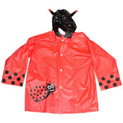 Childrens Novelty Raincoat Ladybird