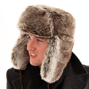 Adult Fake Fur Trapper Hat
