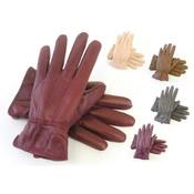 RJM Ladies Sheepskin Leather Gloves Coloured
