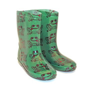 Childrens Frog Wellies
