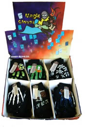 Childrens Boxed Gripper Magic Gloves