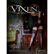 Vixen Sophia Ribbon Lace Hold Up