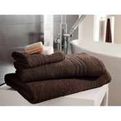 Egyptian Cotton Bath Sheet Chocolate Plain