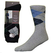 Mens Argyle Socks 2 Pack