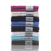 Combed Cotton Face Towel 2 Pack